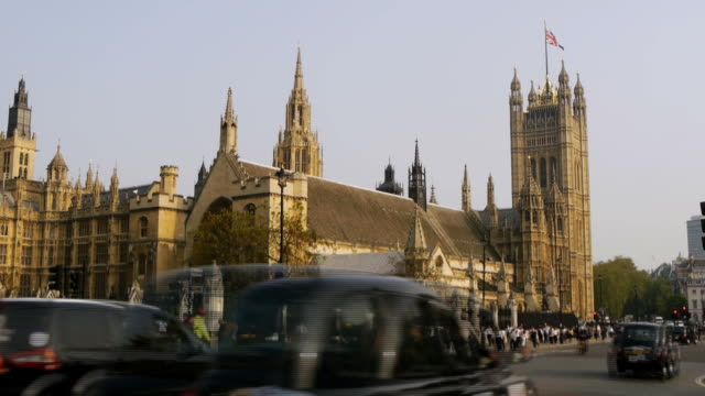 houses of parliament, england - house of commons stock videos & royalty-free footage