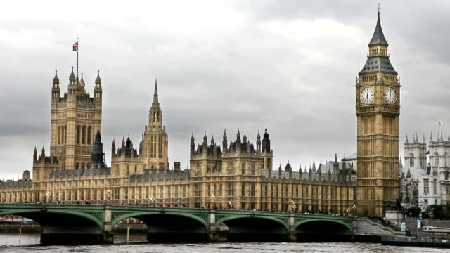 houses of parliament in london - house of commons stock videos & royalty-free footage
