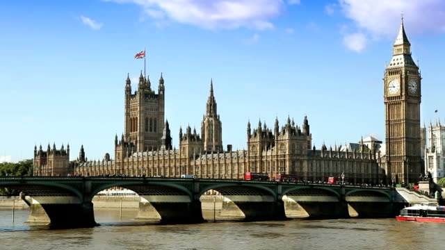 houses of parliament in london - pediment stock videos & royalty-free footage