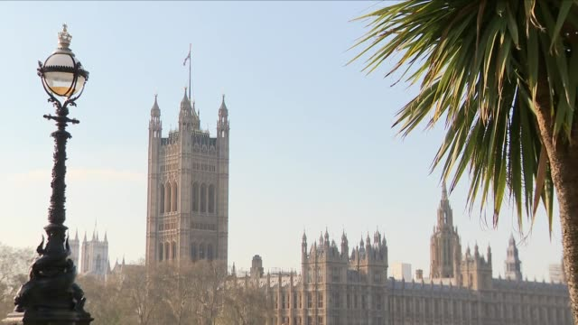 houses of parliament in the spring - british culture stock videos & royalty-free footage