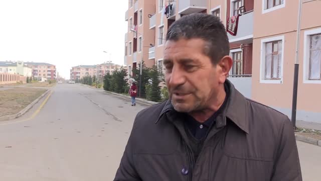 housing blocks in the tartar region where azerbaijani families had settled after fleeing armenian occupation were attacked dozens of times by the... - plaque bacteria stock videos & royalty-free footage