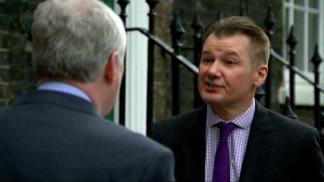 government concernedy by estate agents 'double charging' ext mark hayward along with reporter and interview sot sign in estate agent's window... - literature stock videos & royalty-free footage