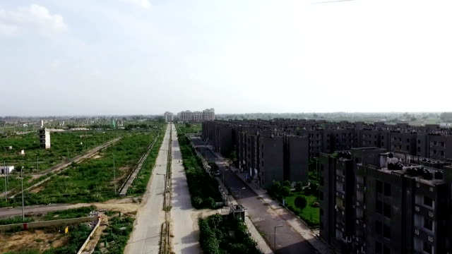 housing development in rural india - delhi stock videos & royalty-free footage