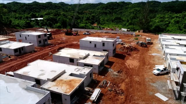 housing project in puerto rico - puerto rico stock videos & royalty-free footage