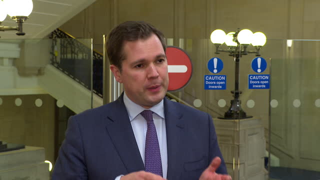 housing secretary robert jenrick talking about the new government white paper published after the grenfell tower fire - housing development stock videos & royalty-free footage