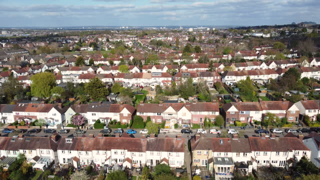 uk housing - greater london stock videos & royalty-free footage