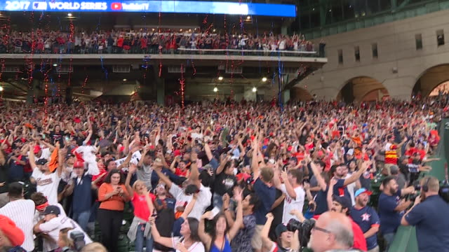 KIAH Houston Astros Fans Celebrate World Series Win