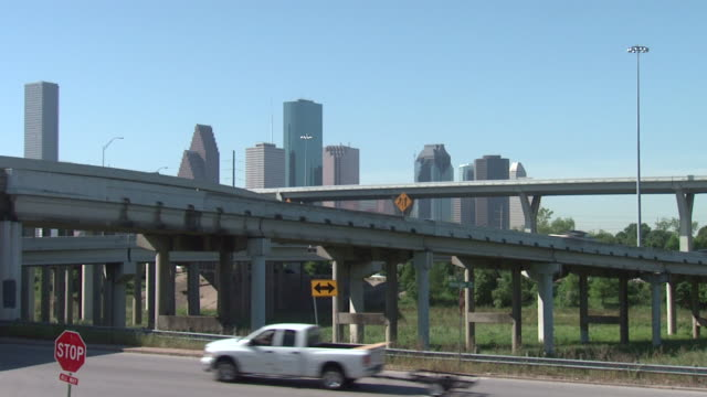 Houston Downtown Freeway