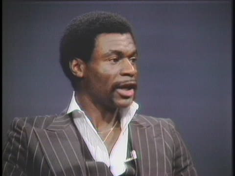 houston rockets basketball player calvin murphy says every player needs to know their limitations. - sport stock videos & royalty-free footage