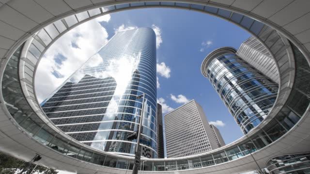 Houston, Texas, USA, skyscrapers, low angle