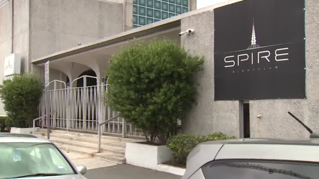 kiah – houston tx us cars parked outside closed spire nightclub the downtown hot spot came under fire in june 2020 after videos surfaced showing a... - spire stock videos & royalty-free footage