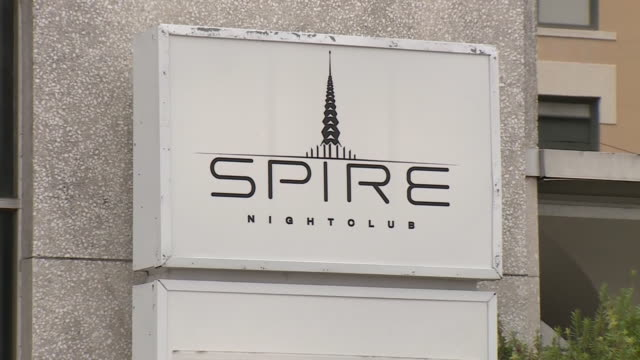 kiah – houston tx us golden spire and signage of spire nightclub the downtown hot spot came under fire in june 2020 after videos surfaced showing a... - spire stock videos & royalty-free footage
