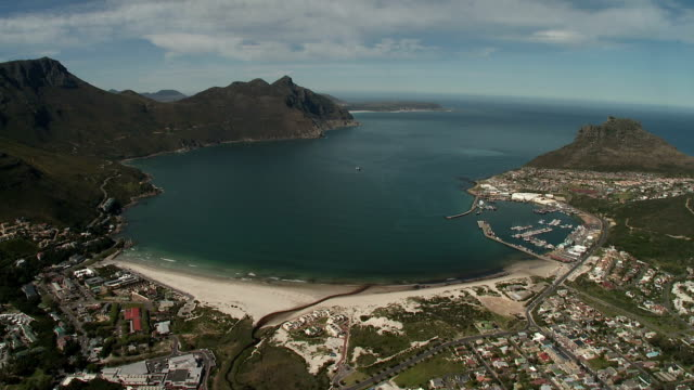 AERIAL Hout Bay and Cape Peninsula, Cape Town, Western Cape Province, South Africa