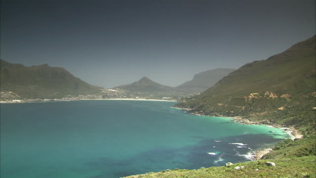 WS PAN Hout Bay shot from Chapman's Peak Drive / Cape Town, Western Cape, South Africa