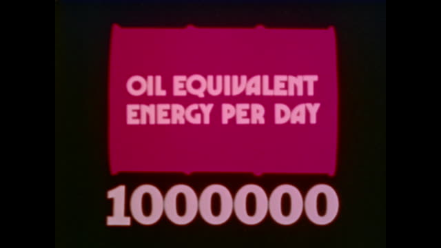 how many barrels of oil it takes to run various things - fuel crisis stock videos and b-roll footage