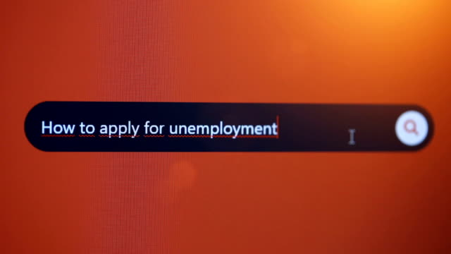 how to apply for unemployment - unemployment application stock videos & royalty-free footage