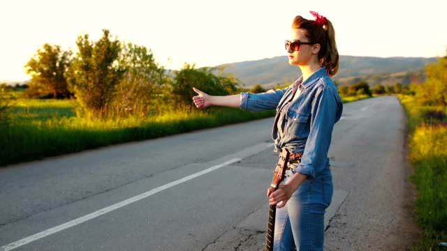 how to be a hipster girl? - thoroughfare stock videos and b-roll footage