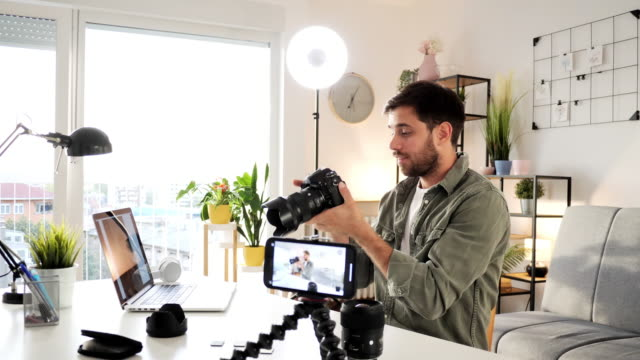 how to become tech influencer with thousands of followers on social media - social media followers stock videos & royalty-free footage