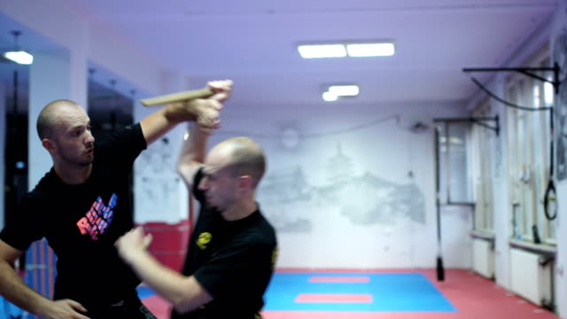how to defend from attacker with a knife - military fitness stock videos and b-roll footage