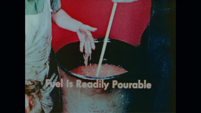 how to make bomb fuel - stahlfass stock-videos und b-roll-filmmaterial