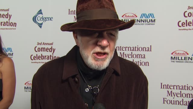 howard hesseman on the event, memories of peter boyle at the international myeloma foundation's 3rd annual comedy celebration at los angeles ca. - peter boyle stock videos & royalty-free footage