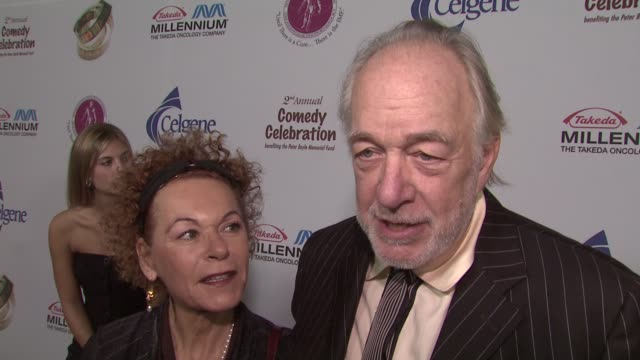 howard hesseman on what the evening means to him personally, his fondest memory of peter boyle, what he's most looking forward to during the show at... - peter boyle stock videos & royalty-free footage
