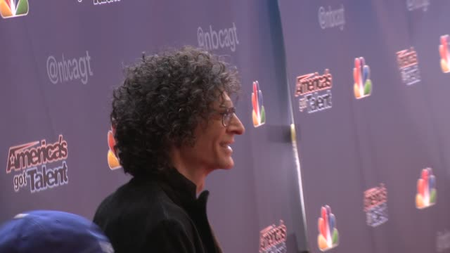 Howard Stern at 'America's Got Talent' Red Carpet at the Dolby Theater on April 22 2014 in Hollywood California