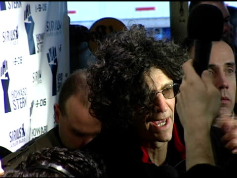 howard stern talking to press at the howard stern last day live event arrivals and inside at hard rock cafe in new york, new york on december 16,... - hard rock cafe stock videos & royalty-free footage