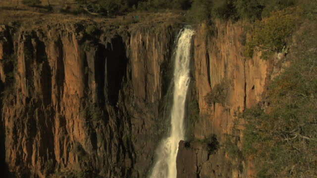 howick falls #2 - base jumper stock videos & royalty-free footage