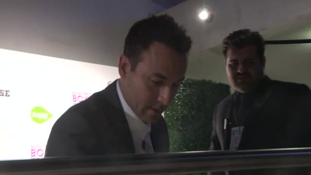 howie dorough greets fans at the backstreet boys show em what you're made of premiere in hollywood in celebrity sightings in los angeles - backstreet boys stock videos & royalty-free footage
