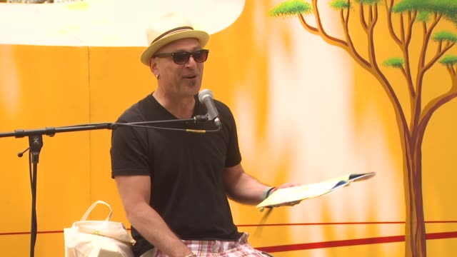 howie mandel at the 21st annual 'a time for heroes' celebrity picnic benefit at los angeles ca - a time for heroes stock videos & royalty-free footage