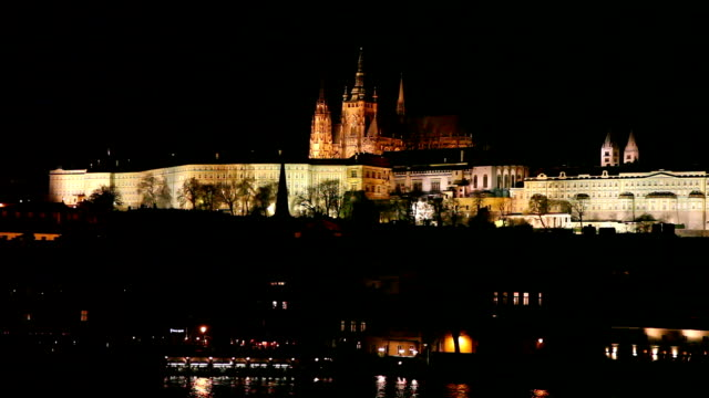 Hradcany by night, Prague