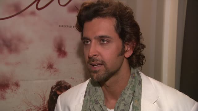 hrithik roshan on how the movie is different from the usual bollywood movies at the cannes film festival 2009 kites photocall and press conference at... - bollywood stock videos and b-roll footage