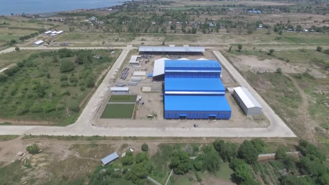 Huadi NickelAlloy Indonesia smelting facility is seen in this aerial video taken in Bantaeng South Sulawesi Province Indonesia on Sunday March 13 2016