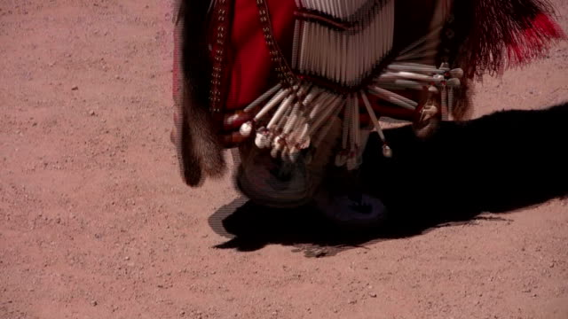 indiani hualapai danza hd - grand canyon video stock e b–roll