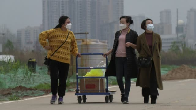 huanggang, home to 7.5 million people, was among the worst-affected areas in hubei, the chinese province where the new coronavirus first emerged late... - morphing stock videos & royalty-free footage