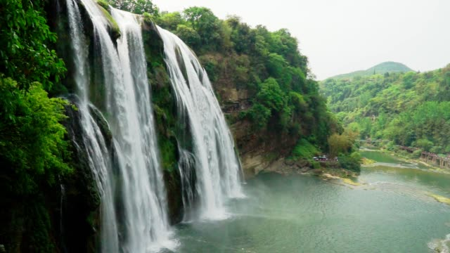 huangguoshu falls waterfall in guizhou