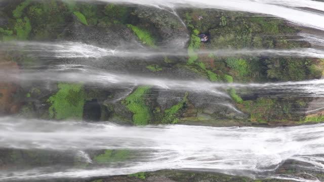 huangguoshuwaterfall,guizhou, china - area selvatica video stock e b–roll