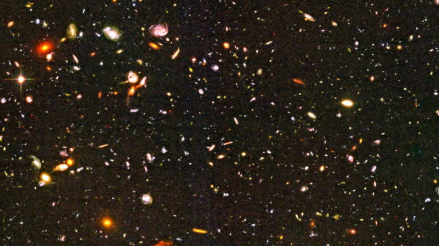 hubble ultra deep field - physics stock videos & royalty-free footage