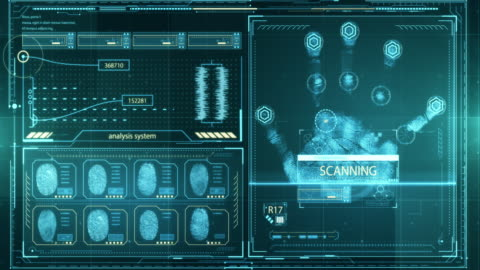 hud control panel - future interface - interactivity stock videos & royalty-free footage