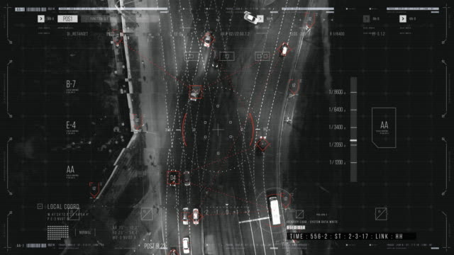hud reconnaissance - motorway stock videos & royalty-free footage