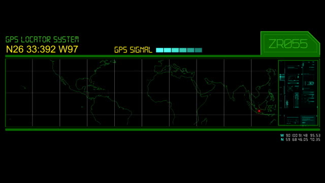 GPS Hud screen