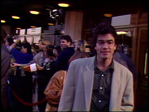 hudson hawk premiere at the 'hudson hawk' premiere on may 20 1991 - 1991 stock videos and b-roll footage