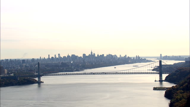 Hudson River By Yonkers  - Aerial View - New York,  Westchester County,  United States