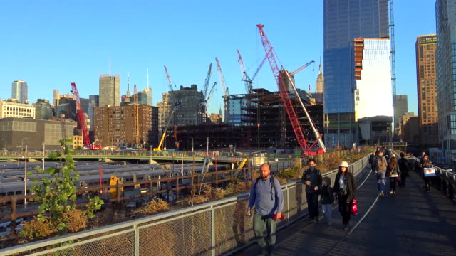 Hudson Yards, Building Construction, New York City, 2015
