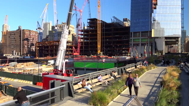 Hudson Yards, High Line Park, New York City, 2015