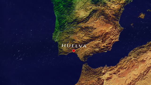 huelva zoom in - huelva province stock videos & royalty-free footage