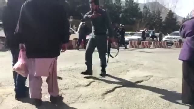 a huge blast has rocked kabul wounding at least 50 people in the latest apparent attack in the afghan capital - kabul stock videos & royalty-free footage