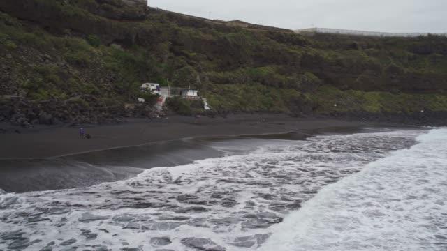 huge cliffs and atlantic ocean coast, tenerife, canary islands, spain, atlantic, europe - 1985 stock videos & royalty-free footage