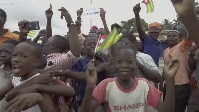 Huge crowds turn out in Togo's capital for the second day running to demand political reform in the largest opposition protests against President...